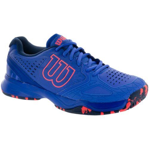 Wilson Kaos Comp: Wilson Women's Tennis Shoes Amparo Blue/Surf The Web/Fiery Coral