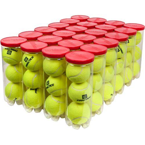 Wilson Practice High Altitude 24 Cans: Wilson Tennis Balls