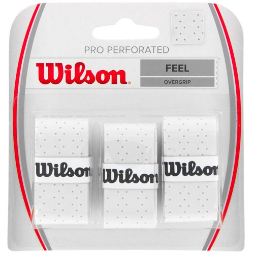 Wilson Pro Overgrip Perforated 3 Pack: Wilson Tennis Overgrips