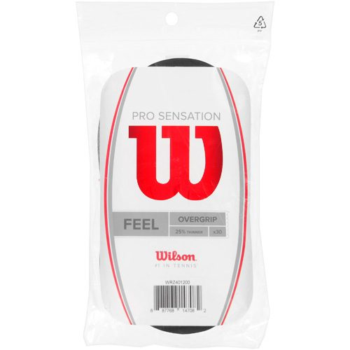 Wilson Pro Overgrip Sensation 30 Pack: Wilson Tennis Overgrips
