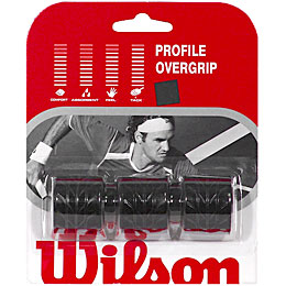 Wilson Profile Overgrip 3 Pack: Wilson Tennis Overgrips