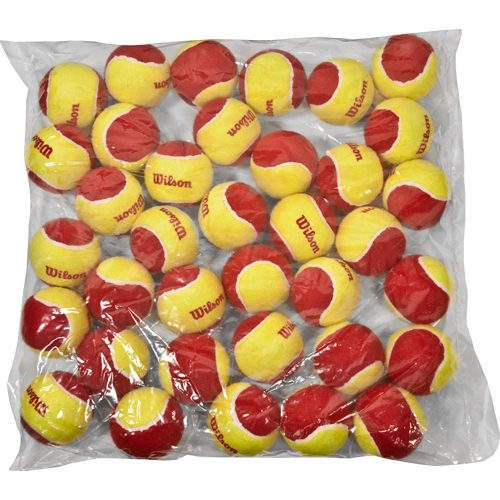 Wilson Starter Red Tennis Ball Bag of 36 Balls: Wilson Tennis Balls