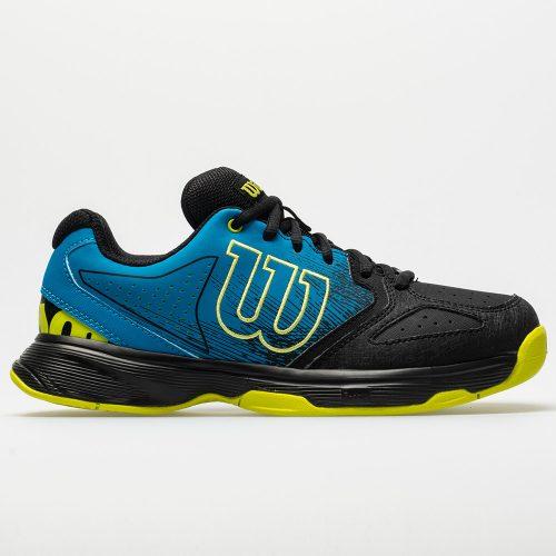 Wilson Stroke Junior Hawaiian Surf/Black/Lime Punch: Wilson Junior Tennis Shoes