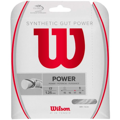 Wilson Synthetic Gut Power 17: Wilson Tennis String Packages