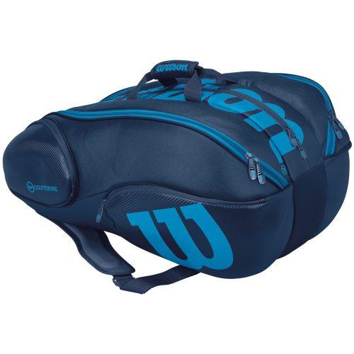 Wilson Ultra 15 Pack Bag Blue/Black: Wilson Tennis Bags