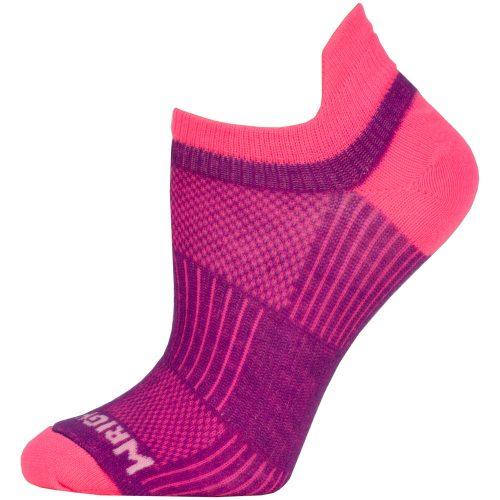 WrightSock Double Layer Coolmesh II No Show Tab Socks: WRIGHTSOCK Socks