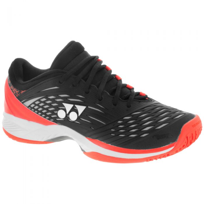 Yonex FusionRev 2 Clay: Yonex Men's Tennis Shoes Orange/Black