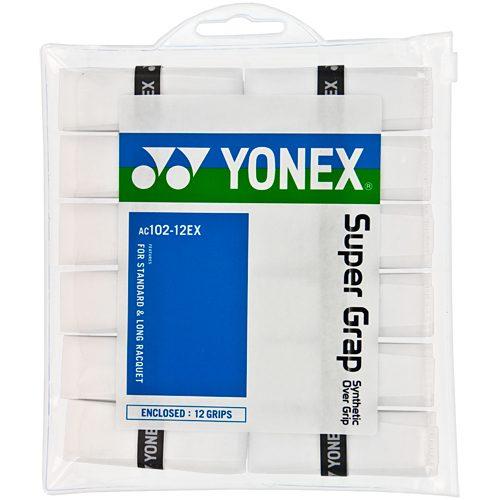 Yonex Super Grap Over Grip 12 Pack: Yonex Tennis Overgrips