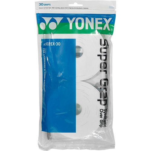 Yonex Super Grap Overgrip 30 Pack: Yonex Tennis Overgrips