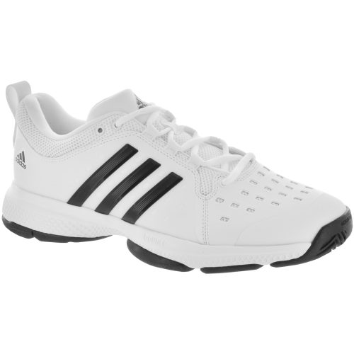 adidas Barricade Classic Bounce: adidas Men's Tennis Shoes White/Core Black
