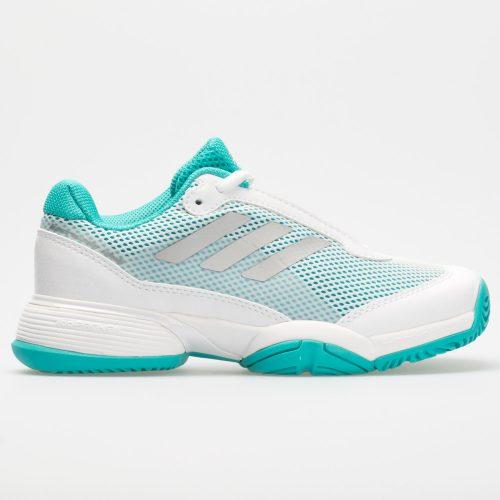adidas Barricade Club Junior Hi-Res Aqua/White/Matte Silver: adidas Junior Tennis Shoes