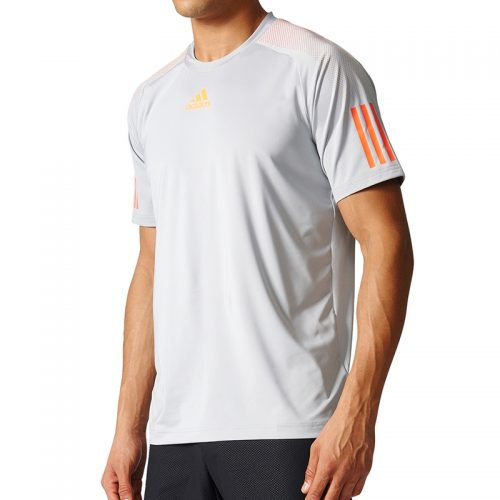 adidas Barricade Tee: adidas Men's Tennis Apparel Spring 2017