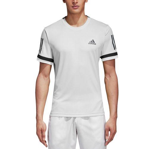 adidas Club 3 Stripes Tee: adidas Men's Tennis Apparel