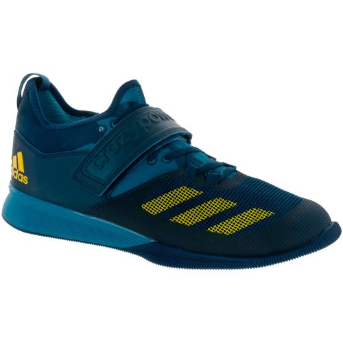 adidas Crazy Power: adidas Men's Training Shoes Energy Blue/Eqt Yellow/Mystery Ink