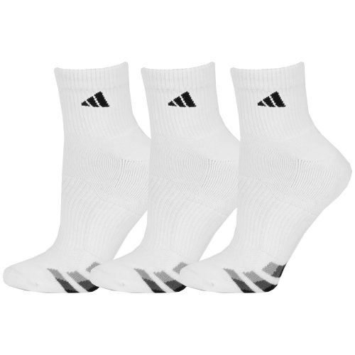 adidas Cushioned Quarter Socks 3 Pack: adidas Men's Socks