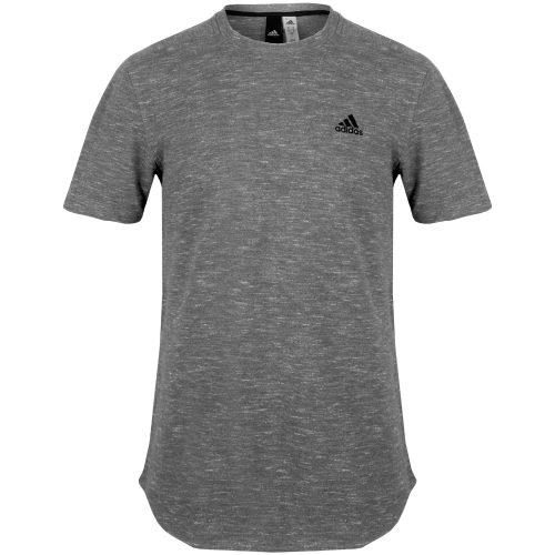 adidas Essentials Heathered Pique Tee: adidas Men's Athletic Apparel