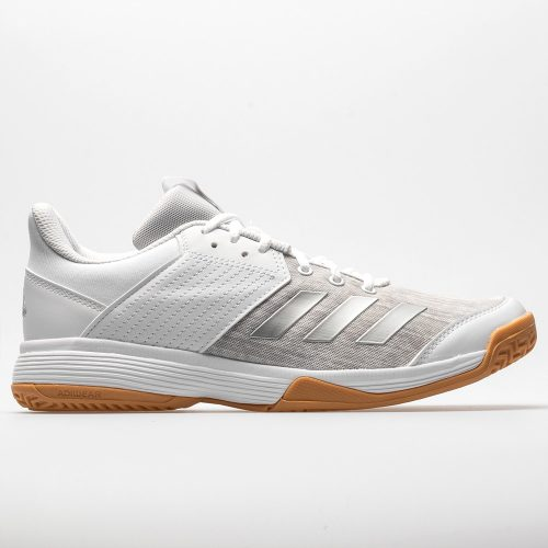 adidas Ligra 6: adidas Women's Indoor, Squash, Racquetball Shoes White/Silver/Grey