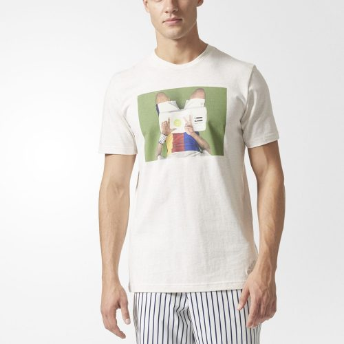 adidas Pharrell Williams NY Graphic Tee: adidas Men's Tennis Apparel