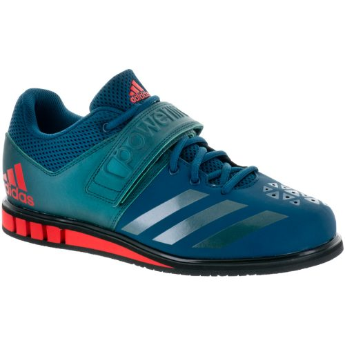 adidas Powerlift 3.1: adidas Men's Training Shoes Petrol Night/Mystery Green/Core Red