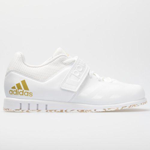 adidas Powerlift 3.1: adidas Men's Training Shoes White/Gold Metallic