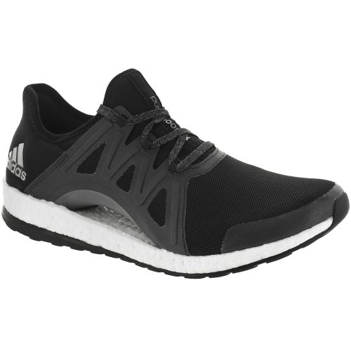 adidas Pureboost Xpose: adidas Women's Running Shoes Core Black/White/Dark Grey