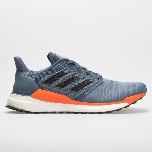 adidas SolarBoost: adidas Men's Running Shoes Tech Ink/Grey/Hi-Res Orange