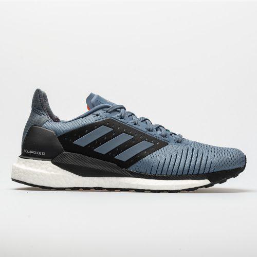 adidas SolarGlide ST: adidas Men's Running Shoes Raw Steel/Hi-Res Aqua