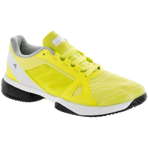 adidas Stella Barricade Boost: adidas Women's Tennis Shoes Aero Lime/White/Core Black
