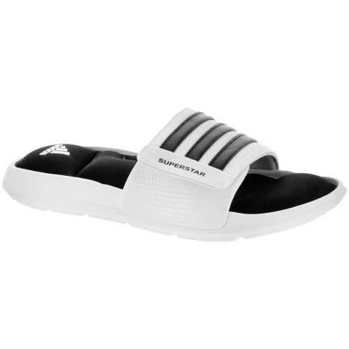 adidas Superstar 5g: adidas Men's Sandals & Slides White/Core Black/White