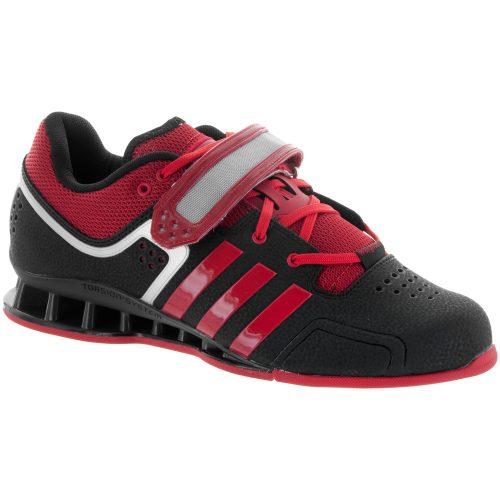 adidas adipower Weightlifting Shoe: adidas Men's Training Shoes Black/Light Scarlet/Gray