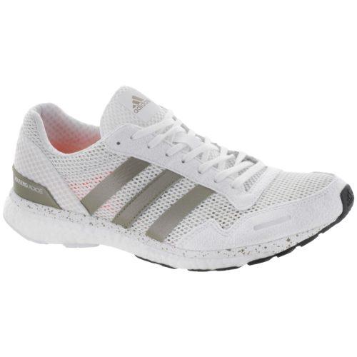 adidas adizero Adios 3: adidas Women's Running Shoes White/Gold