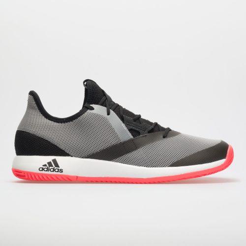 adidas adizero Defiant Bounce: adidas Men's Tennis Shoes Black/White/Red Flash