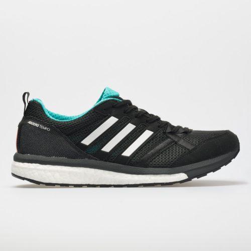 adidas adizero Tempo 9: adidas Men's Running Shoes Black/Hi-Res Aqua/Mystery Ink