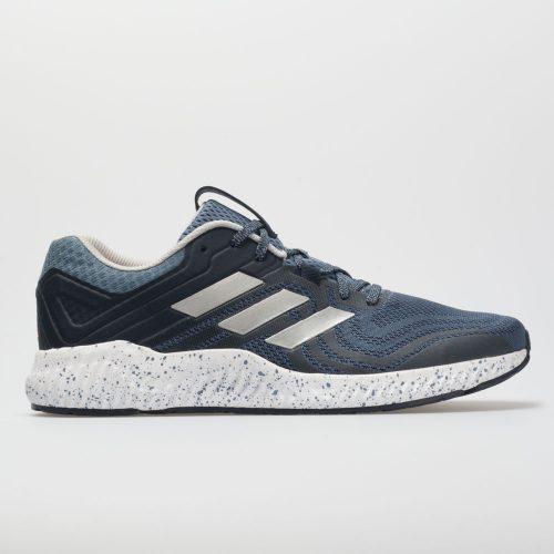 adidas aerobounce ST: adidas Men's Running Shoes Raw Steel/Silver/Hi-Res Orange