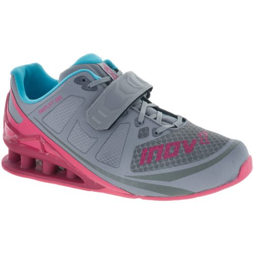 inov-8 Fastlift 325: Inov-8 Women's Training Shoes Grey/Berry/Blue