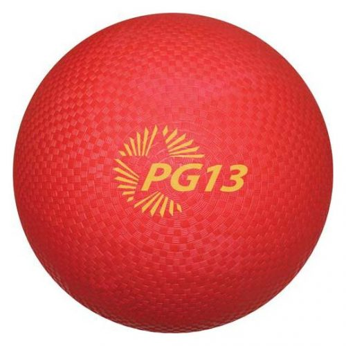 "13"" Red Playground Kickball (Set of 6)"