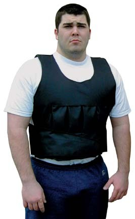 20 lb. Weighted Long Vest