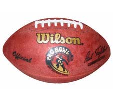 2001 Pro Bowl Football by Wilson -The Official Game Ball Of The Pro Bowl