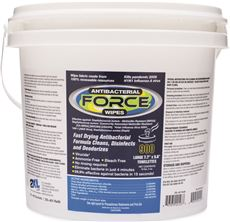 2XL 2487234 Care Wipes & Gym Wipe Antibacterial Force Bucket 900 Sheets