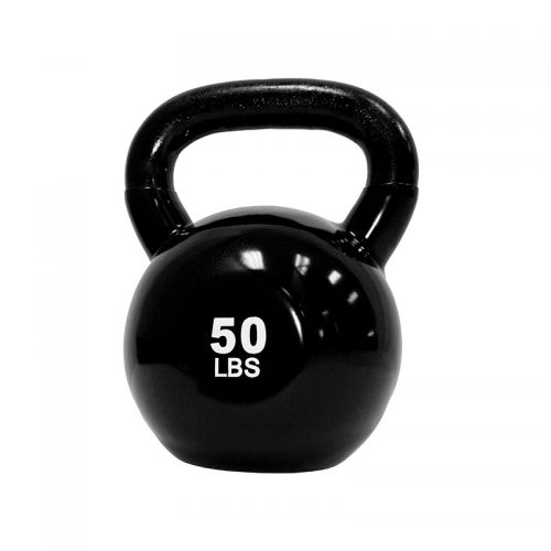 50 lb. Vinyl Dipped Kettlebell from TKO Sports