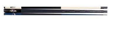 """57"""" Baltimore Ravens NFL Team Logo 2 Piece Cue from Imperial International"""