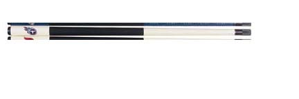 """57"""" Tennessee Titans NFL Team Logo 2 Piece Cue from Imperial International"""