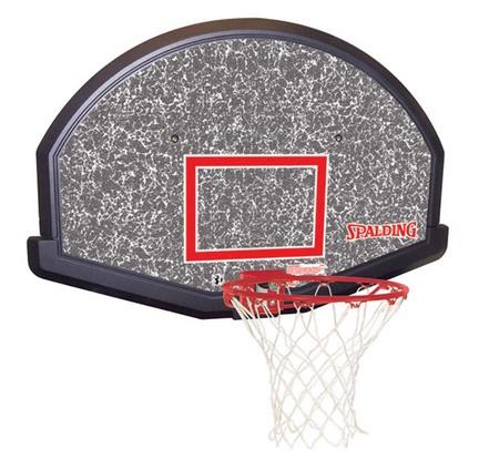 (80348) Basketball Backboard, Goal and Net Combo from Spalding