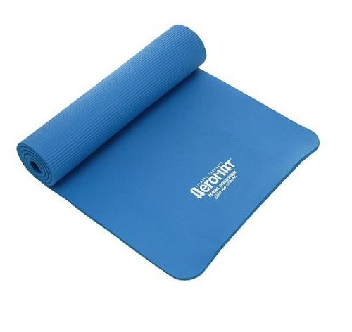AGM Group 71521 23 in. Elite Dual Smooth Surface Ribbed Mat - Blue