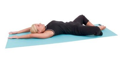 AGM Group 72303 72 in. Elite Yoga-Pilates with Strap - Pastel Teal