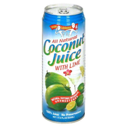 AMY & BRIAN JUICE COCONUT YNG W LIME-17.5 FO -Pack of 12