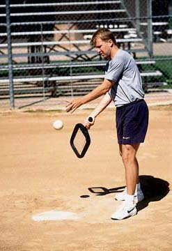"Accubat ""Coaches Helper"" Baseball Training Device for Hitting Grounders and Pop Flies"