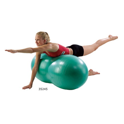 Aeromat 35246 Therapy Peanut Ball Burst Resistance 50 cm Blue