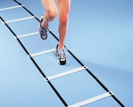 Agility Squares / Flat Rungs Training Aid