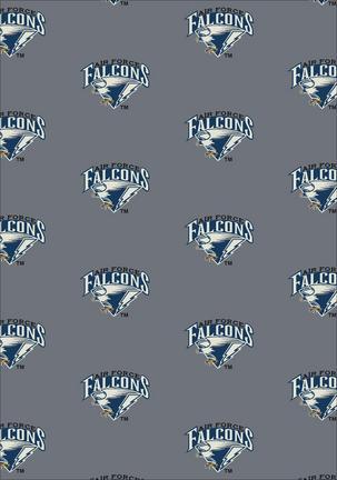 "Air Force Academy Falcons 3' 10"" x 5' 4"" Team Repeat Area Rug"